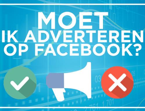 MOET ik nu adverteren op Facebook?